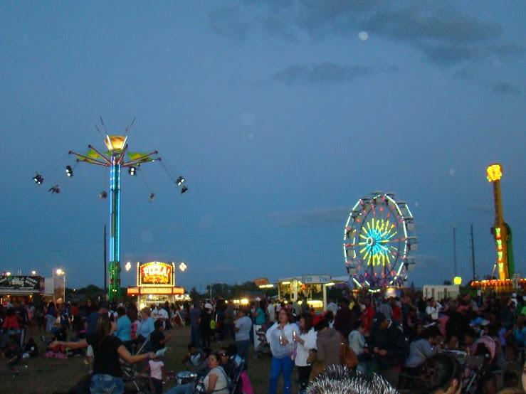 The Festival at Dusk